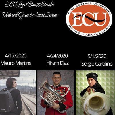 ECU music students participate in virtual masterclasses