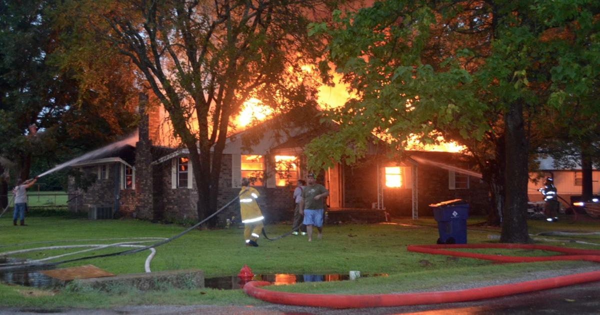 Lightning strikes homes, causes fires