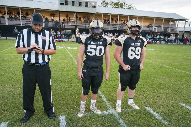 Allen celebrates 100 years of football with shutout