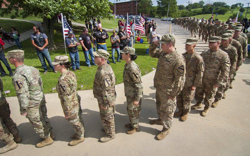 In pictures: The 1245th comes home for Memorial Day