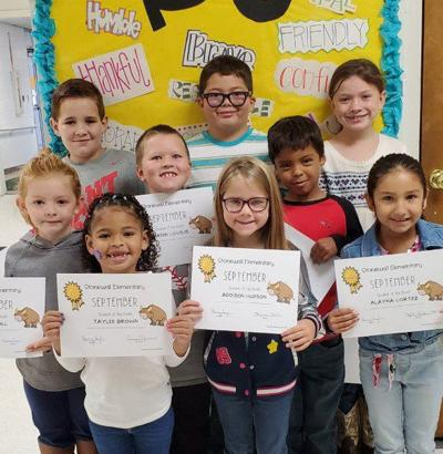 Stonewall Elementary Students of the Month