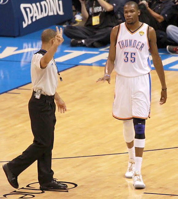 Another Durant foul