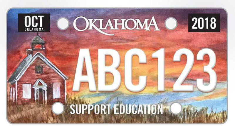 Still time to vote for Latta student's design in license plate competition