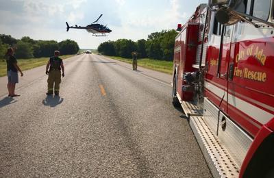 Crash injures seven