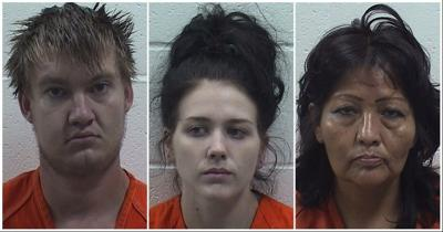 Ada man charged with assaulting Sheriff's deputies; three arrested