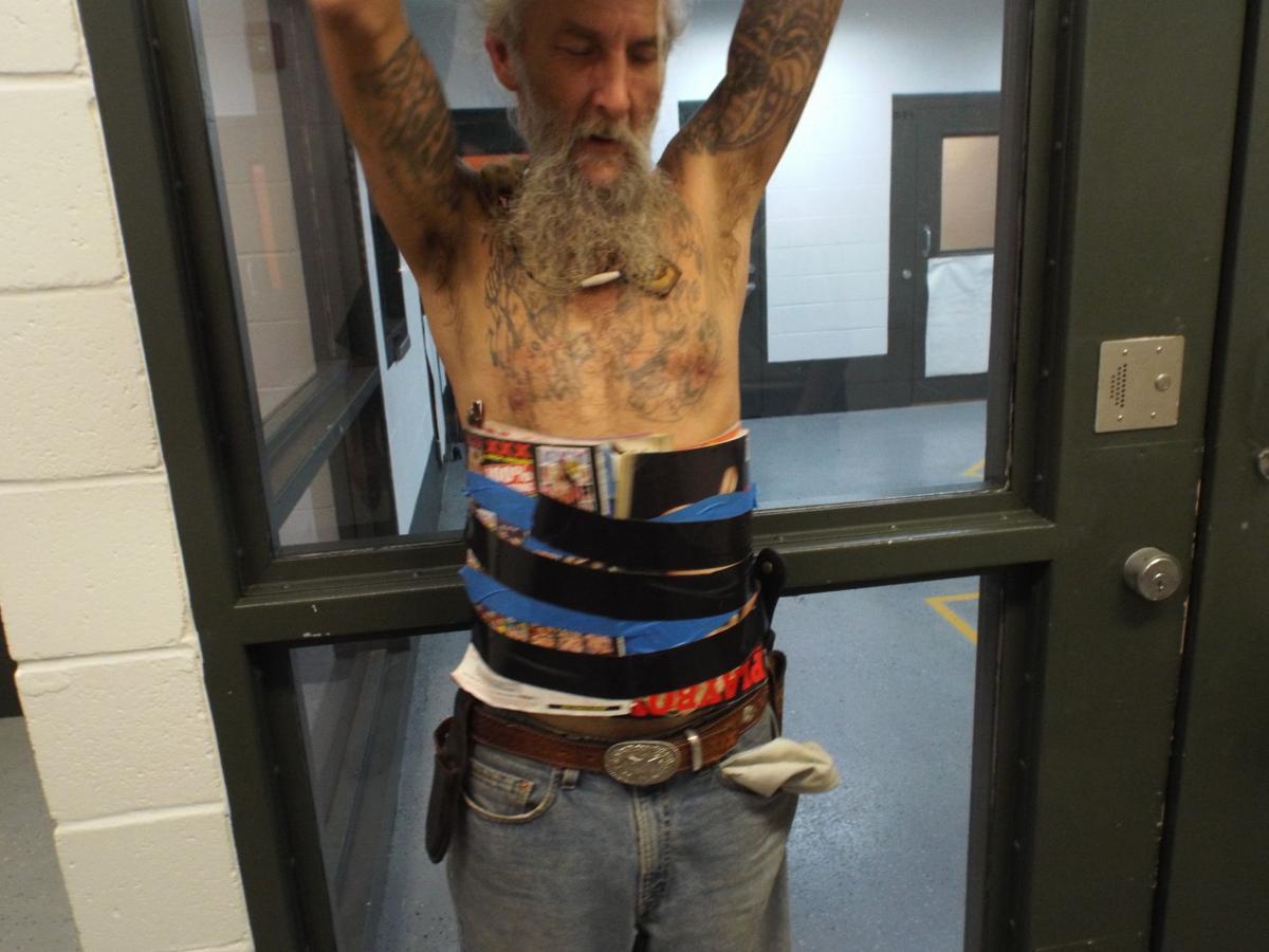 Donald Gene Gaither, Improvised Body Armor