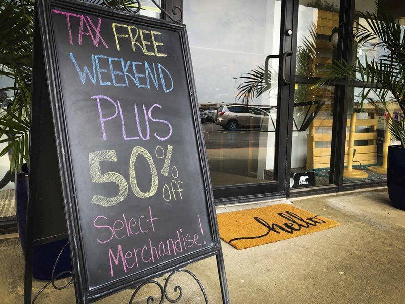 Tax-free weekend is underway