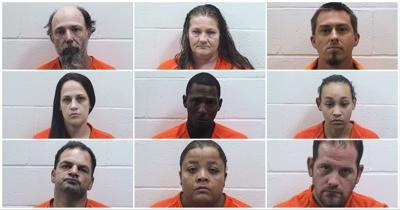 Nine Arrested