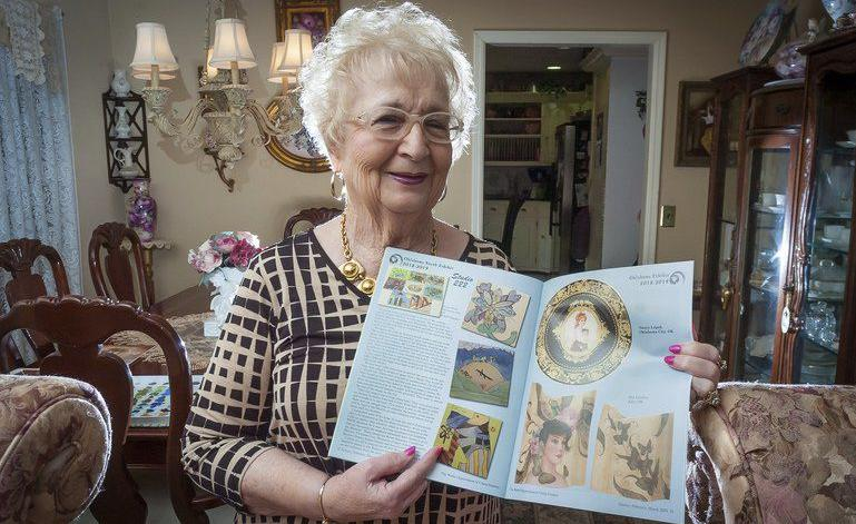 Porcelain painter earns recognition for her work