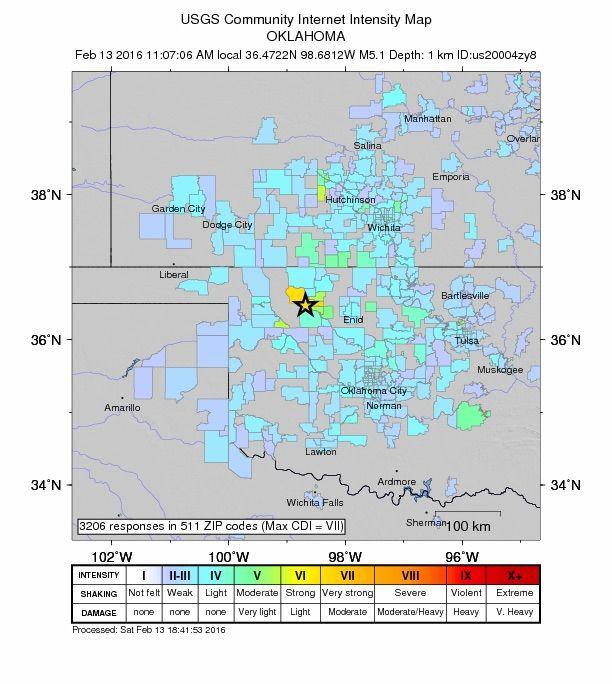 USGS Community Internet Intensity Map
