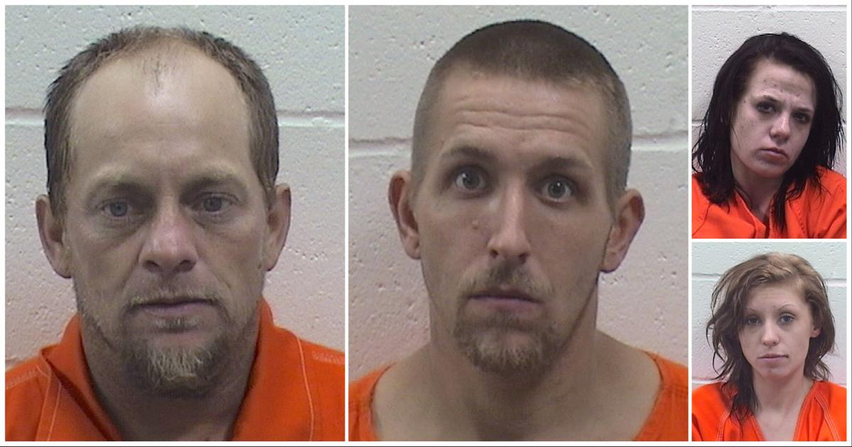 Four Charged in Francis Burglary