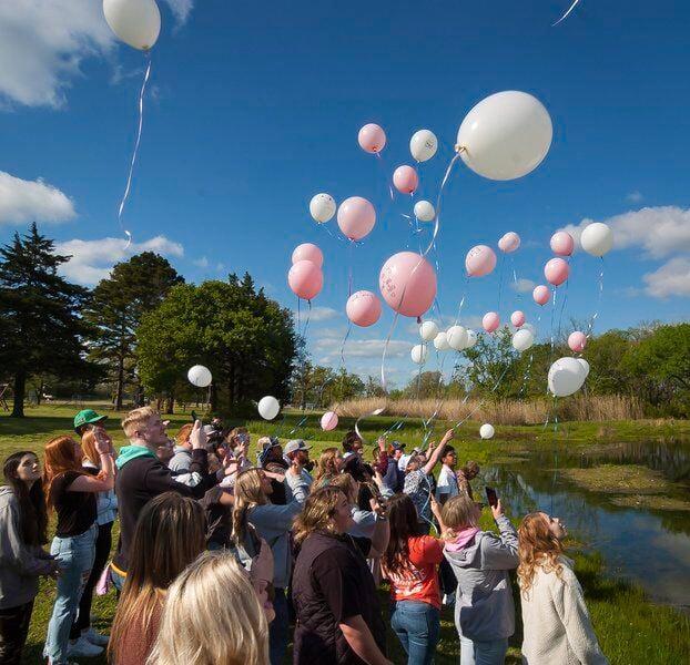 Jaimone Kirkland remembered at balloon release