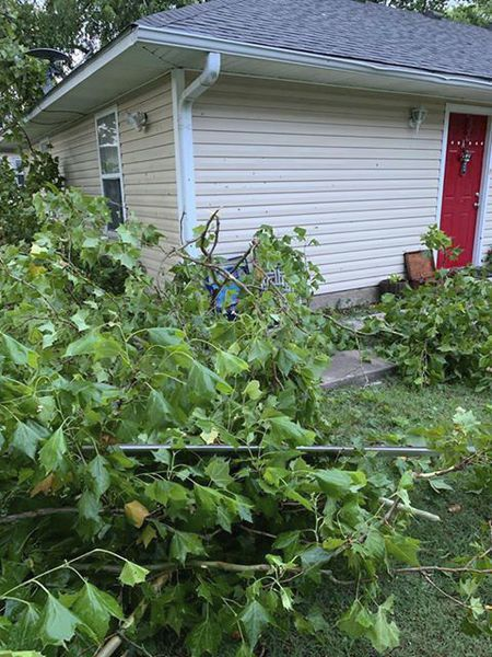 Readers submit photos of storm damage