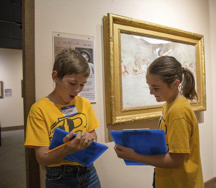 Roff students visit Chisholm Trail Heritage Center