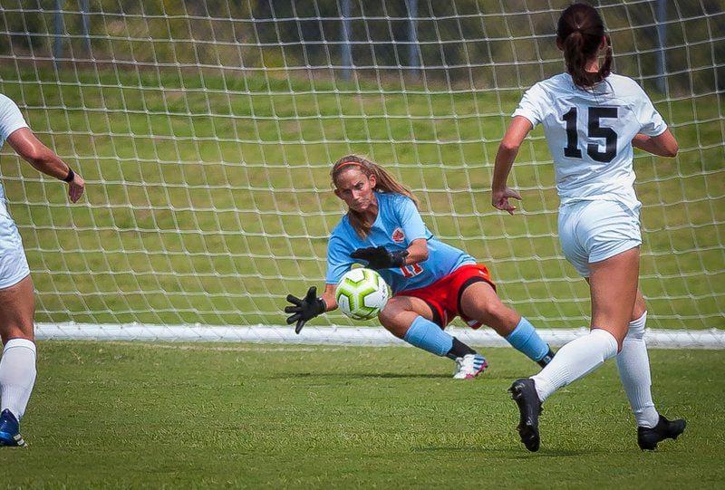 ECU soccer team knocks off Ouachita Baptist