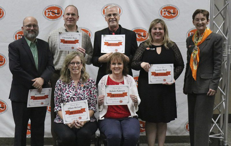 ECU honors employees for years of loyal service