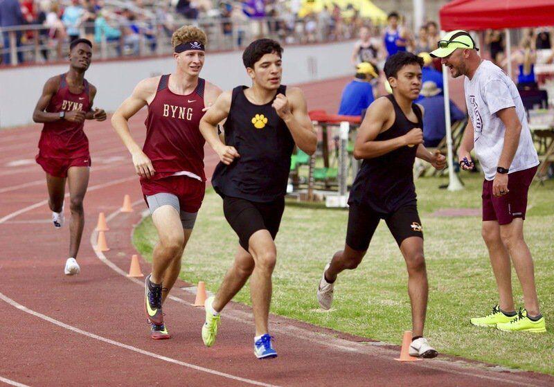 Byng's Carlos sets school mark in 1600 Meters