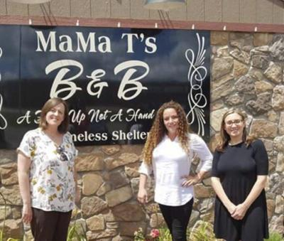 Democratic Women donate items to Mama T's