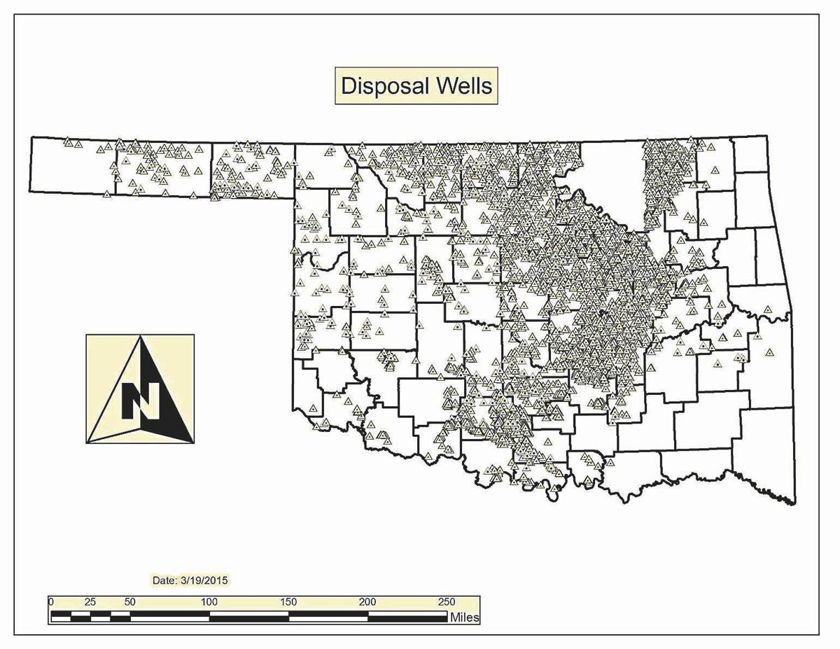 Oklahoma becomes \'an intake state\' for disposal wells | News ...