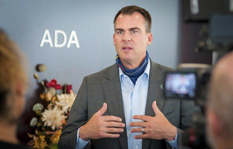 Governor, commerce director visit Ada