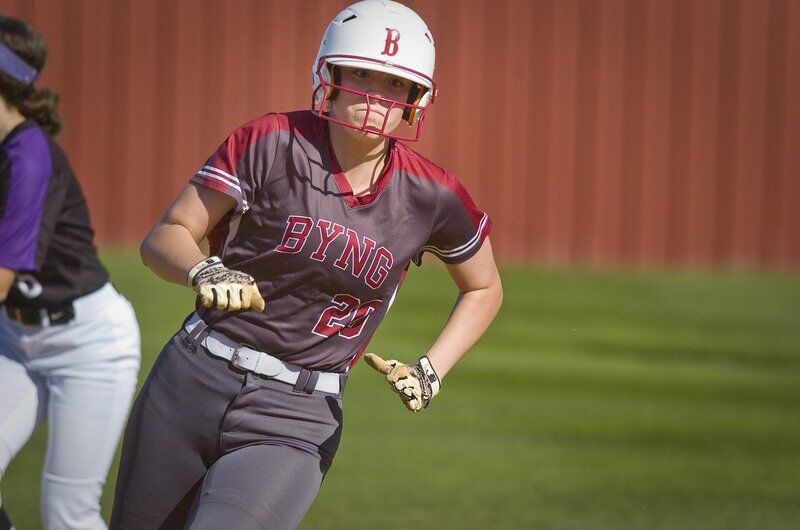 Kennedy Large hits for the cycle in Byng's home win over Coalgate