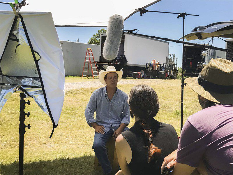 """Header: Preserving History Subhead: Chickasaw Nation producing """"The Chickasaw Rancher"""" film to document the nation's glorious heritage"""