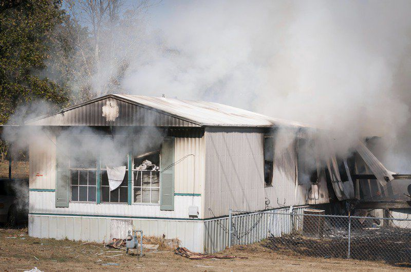 One injured in Pickett blaze