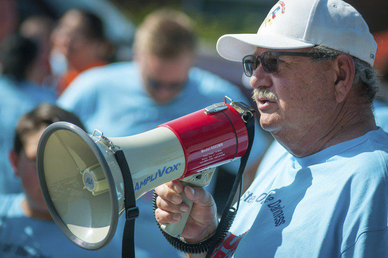 Step Out of the Darkness rally held Saturday