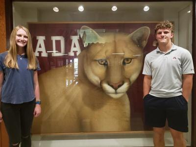 Jones, McCortney named September Ada Rotary Club Students of the Month