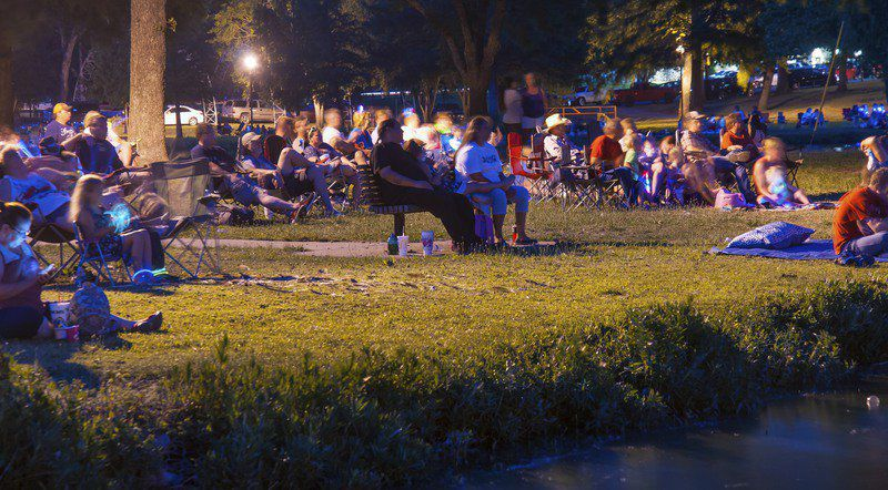 Fireworks, festivities mark Independence Day in Ada