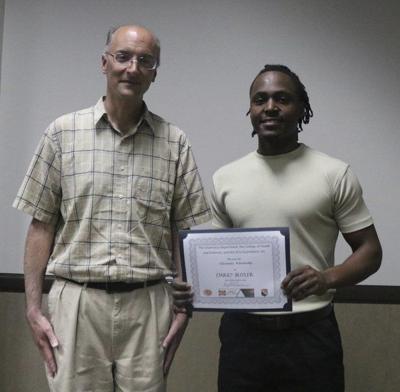 Butler receives chemistry scholarship