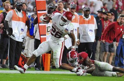 Sooners' running back cleared to rejoin team this week