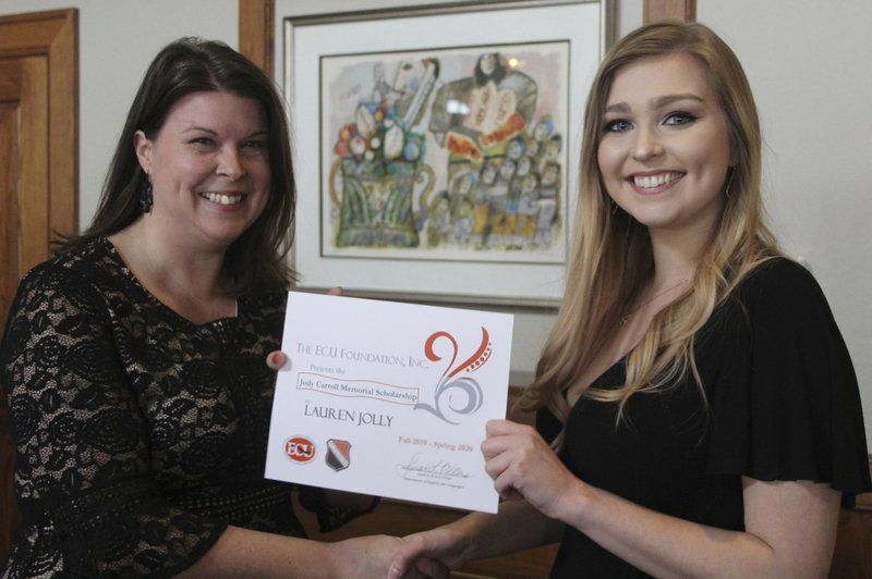 ECU recognizes outstanding students