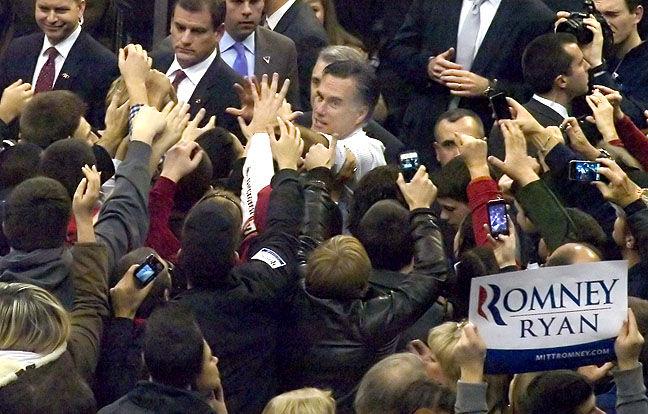 Romney Campaigns