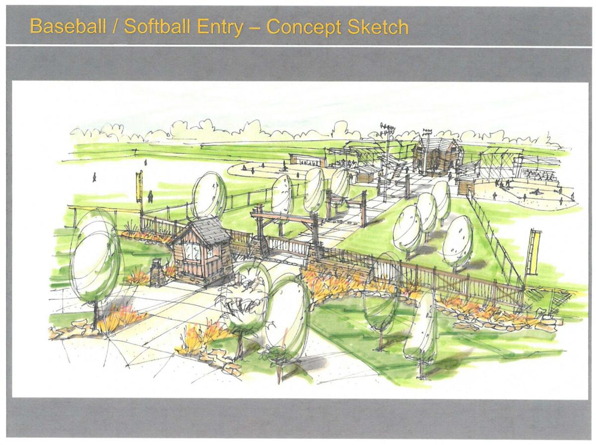 Design phase for new ada sports complex taking shape local news for Sports complex planning design