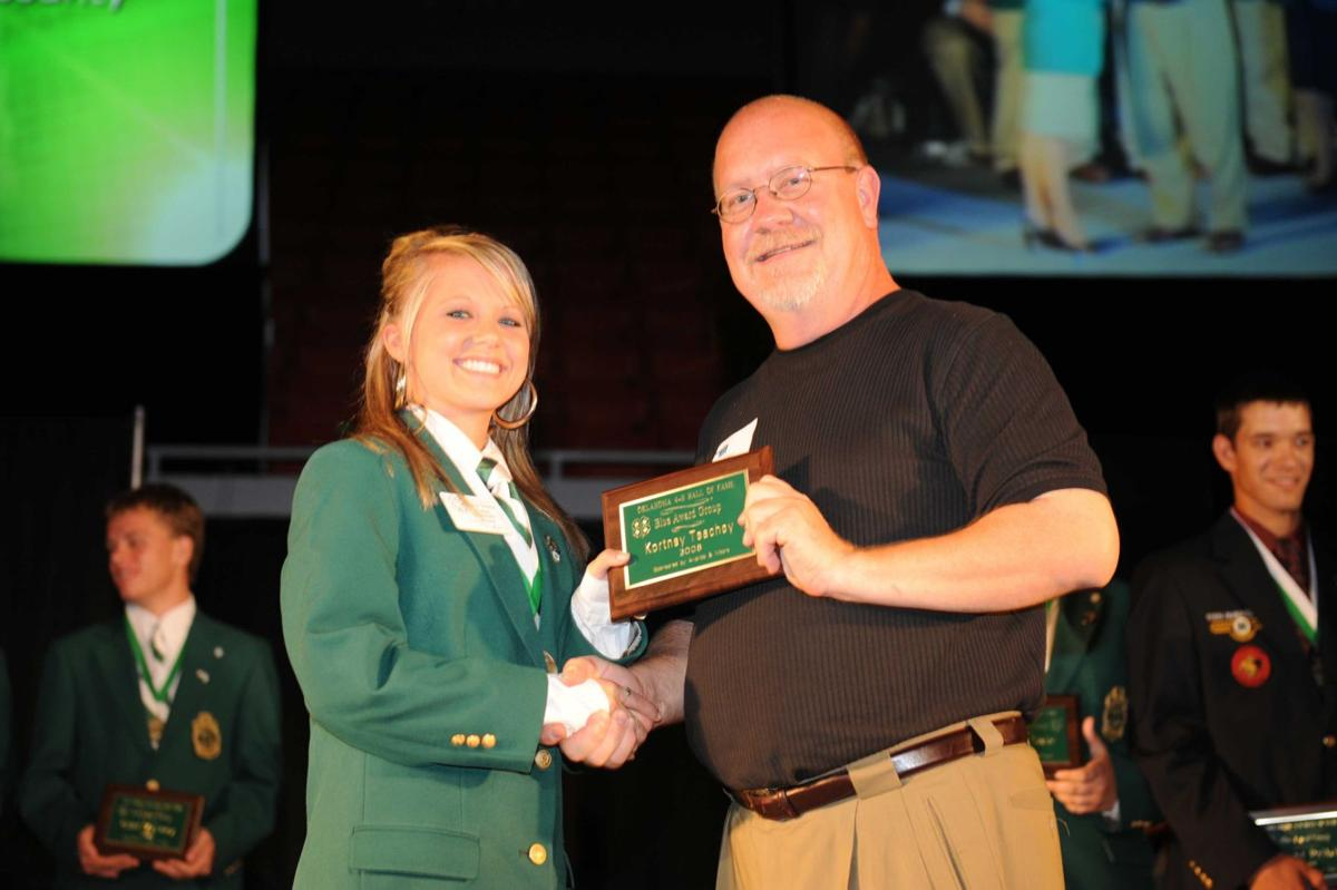 Honored 4-H'ers 1