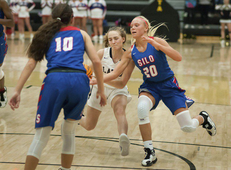Latta girls can't complete late rally against No. 2 Silo