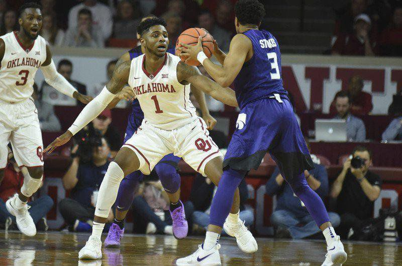 8eedb739a2ab11 Basketball notes  Sooners enter Jordan Brand era  two bigs are out of town  for