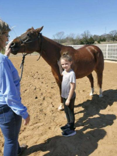 Allen first-grade students enjoy TLC Horse Tales