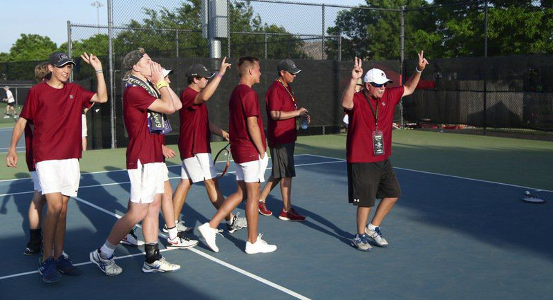 Ada celebrates winning state title
