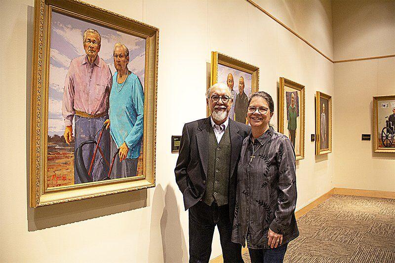 Mike Larsen's elder portraits showcased through online video tour
