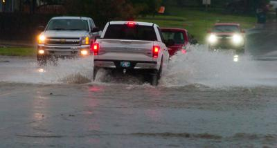 Torrential rainfall renders county roads 'impassable'