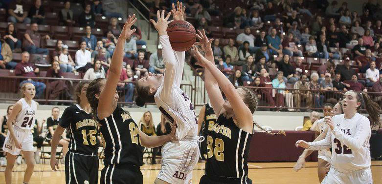 Ada teams sweep by rival McAlester