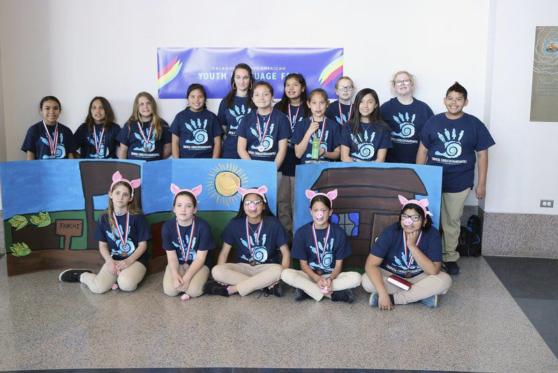 Chickasaw students victorious in Oklahoma Native American Youth Language Fair