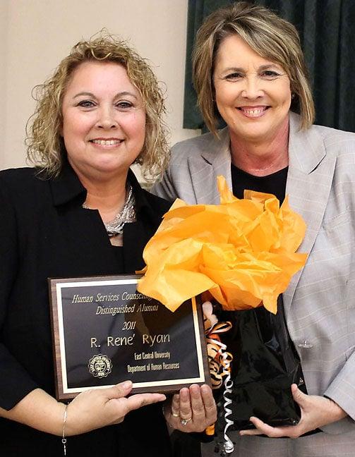 Rene Ryan named Distinguished Alumna in Counseling at ECU