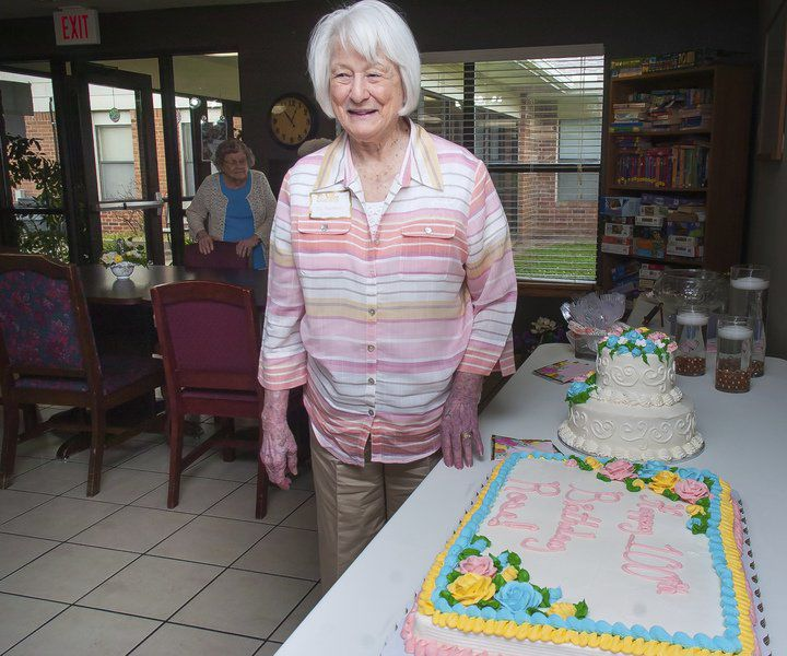 Rose Bain celebrates 100 years of life