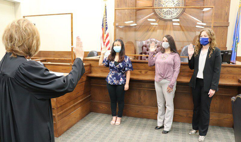 CASA swears in new advocates
