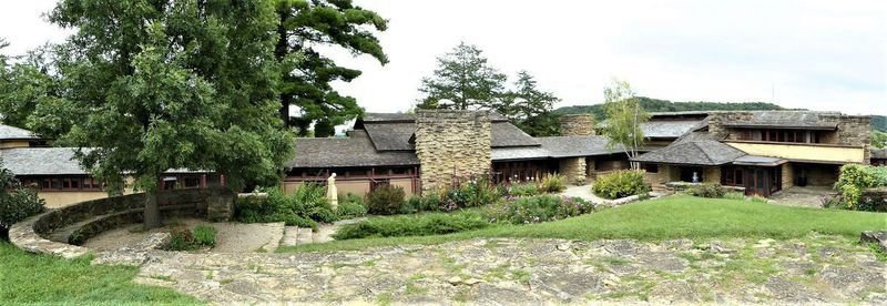 A visit to Taliesin, Frank Lloyd Wright's Wisconsin estate