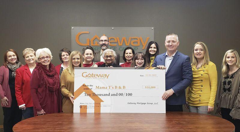 Gateway Mortgage Group donates $12,500 to Ada nonprofits