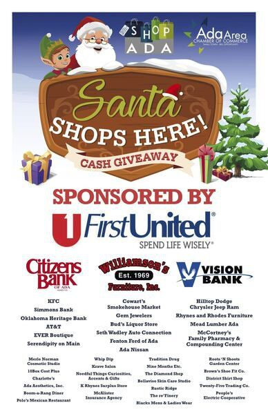 Santa Shops Here offers a chance to win $10,000